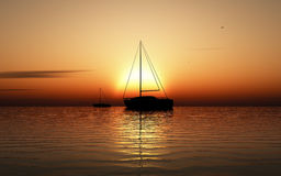 Boats sailing Royalty Free Stock Photo