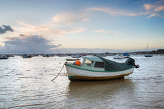 Boats at Sandbanks in Poole Stock Photography