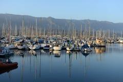 Boats in Santa Barbara, California Stock Images