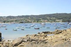 Boats at the sea Stock Photography
