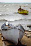 Boats by the sea Royalty Free Stock Images