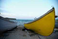 Boats by the sea Stock Photo