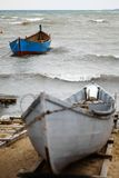 Boats by the sea Stock Photography