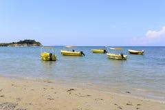 Boats on the sea Stock Photos
