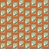 Boats seamless pattern Stock Photography