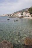 Boats at seaside of Bol Royalty Free Stock Photos
