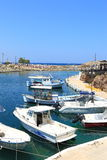 Boats in Sissi Royalty Free Stock Photo