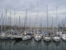 Boats in Spain Royalty Free Stock Images