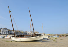 Boats in St Ives Stock Photography