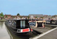 Boats at Stratford upon Avon Royalty Free Stock Images