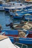 Boats in Syracuse, Italy Royalty Free Stock Image