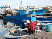Boats in Taranto Stock Photos