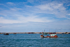Boats in Thailand Royalty Free Stock Photography