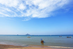 The boats in Thailand, April Royalty Free Stock Images