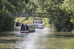 Boats on the Thames at Cookham Royalty Free Stock Images