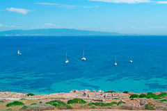 Boats by Tharros Royalty Free Stock Image