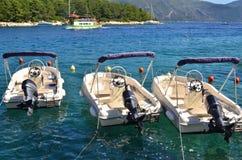 Motor boats Stock Photo