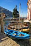 Boats,  Torbole, Italy Royalty Free Stock Images