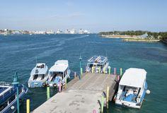 Nassau Water Transportation Royalty Free Stock Photos