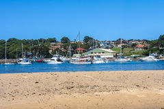 Boats in Ulladulla harbour. Stock Images