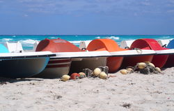 Boats Of Varadero Cuba Stock Photos