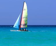 Boats Of Varadero Cuba Stock Image