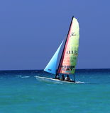 Boats Of Varadero Cuba Stock Photography