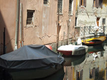 Boats in venice Royalty Free Stock Photography