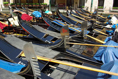 Boats in Venice, Italy Stock Photography