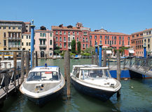 The boats in Venice Stock Photography