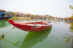 Boats in Vietnam Stock Photo