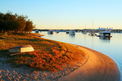 Boats By The Water Royalty Free Stock Photos