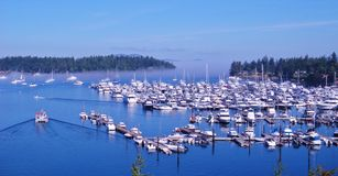 Boats on the Water Royalty Free Stock Photography