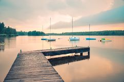 Boats on the water. Stock Images