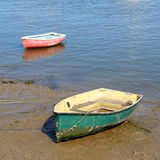 Boats in Wells-next-the-sea Stock Image