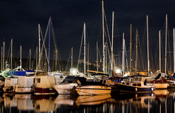 Boats and yachts Royalty Free Stock Photo
