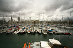 Boats and yachts Stock Image