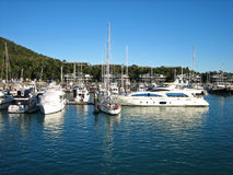 Boats & Yachts at Hamilton Island Stock Photo