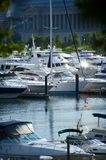 Boats and Yachts Royalty Free Stock Images