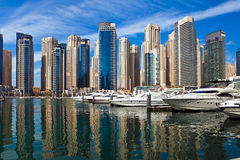 Dubai Marina, UAE. Royalty Free Stock Image