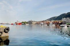 Boats and yachts at Vagen Bay Stock Photography