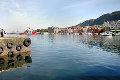 Boats and yachts at Vagen Bay Royalty Free Stock Photos