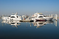 Boats and yatchs Stock Photo