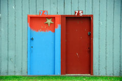 Boatshed Doors Royalty Free Stock Image