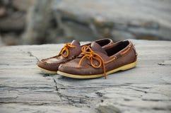 Boatshoes Zdjęcia Stock