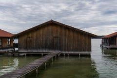Boatshouse Arkivfoton