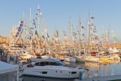 第32国际伊斯坦布尔Boatshow 免版税库存照片