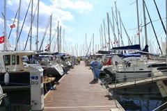 Boatshow de Istambul Foto de Stock Royalty Free