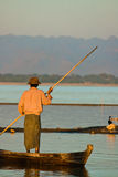 Boatsman obrazy stock