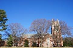 Boatwright Memorial Library - Universiteit van Richmond Stock Fotografie